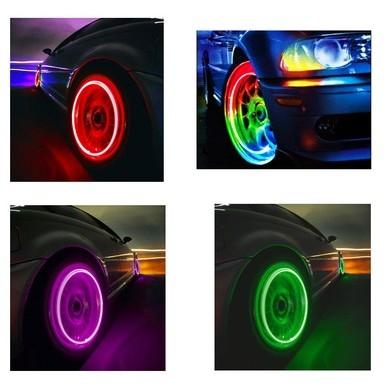 Подсветка для колеса (зелёная)