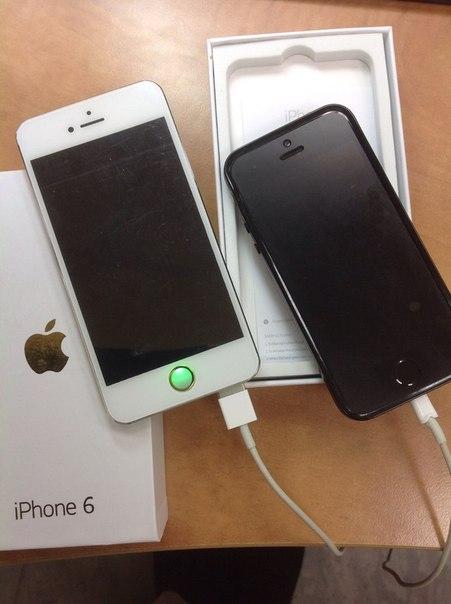 Внешний аккумулятор 10400 мАh в виде iPhone 6